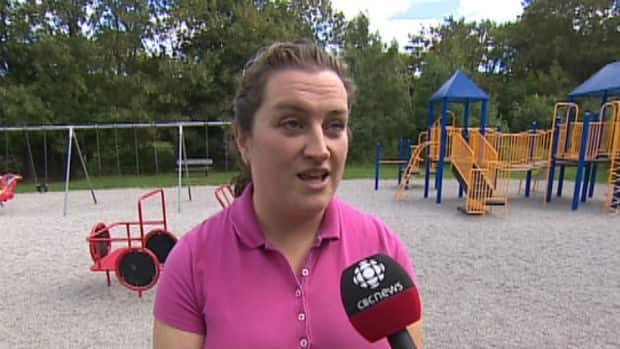 Patricia Walsh-Warren is concerned a proposed cell tower will be installed less than a hundred metres from St. Mary's Elementary School.