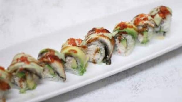 Sushi at Shigatsu in northwest Calgary.