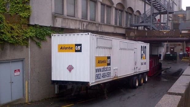 A generator that was brought in late Wednesday afternoon remains on site at the IWK.