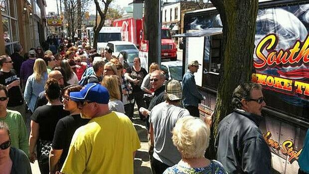 Thirty-five food trucks will be at Sew Hungry this year.