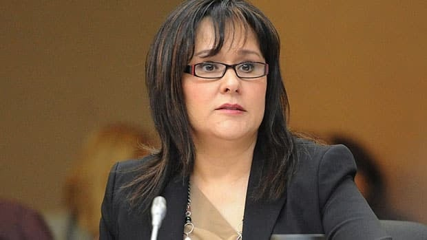 Minister of Health Leona Aglukkaq appears as a witness at a Commons heath committee on March 13. Aglukkaq sent drugmaker Sandoz a strongly worded letter earlier this month over production changes that have resulted in a shortage of pharmaceuticals.