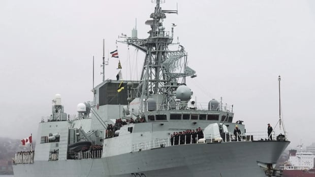 Webster was serving on board HMCS Toronto, which has been part of counterterrorism and anti-piracy operations in the Arabian Sea for most of this year.