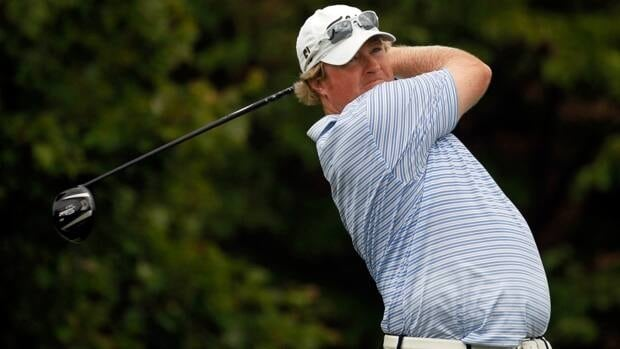 Ottawa's Brad Fritsch is five strokes off the pace heading into Monday's final round at the PGA Tour qualifying tournament in La Quinta, Calif.