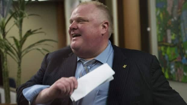 Toronto Mayor Rob Ford, seen above in a file photo, admits having a couple of beers on the night he visited the Taste of the Danforth street festival.