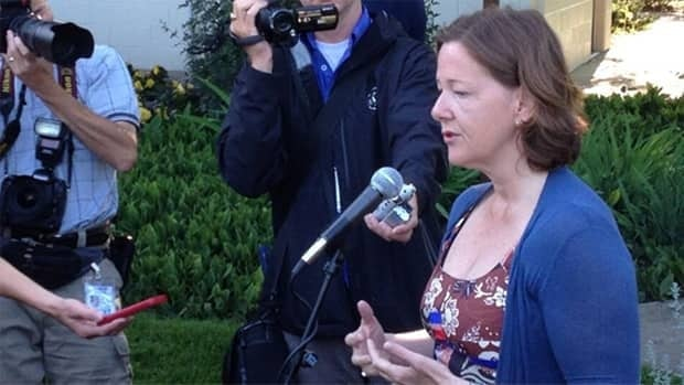 Premier Alison Redford says she was disgusted when she learned MLA Mike Allen was arrested in a prostitution sting Monday.