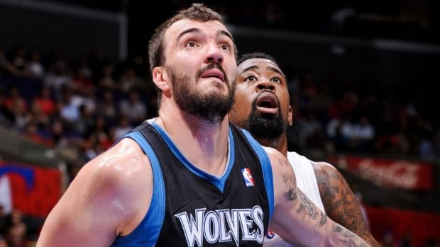 Nikola Pekovic averaged a career-high 16.3 points and 8.8 rebounds per game last season