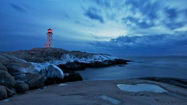 Nova - Peggys Scotia needs owner CBC  - Cove lighthouse new