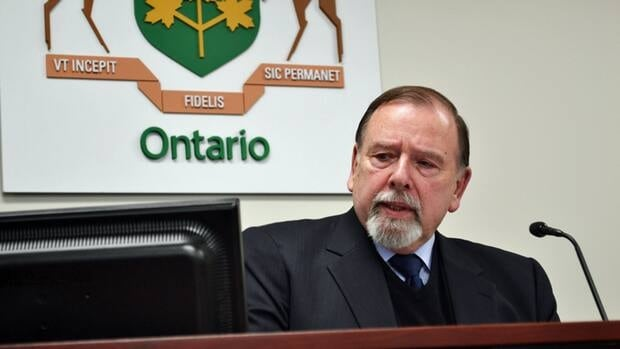 Justice Paul Belanger is head of the commission leading the inquiry into the fatal roof collapse at the Algo Centre Mall in Elliot Lake, which happened on June 23, 2012.
