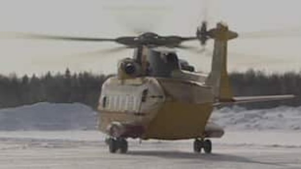 The Canadian military operates three Cormorant search-and-rescue helicopters like this one from a base near Gander, N.L.