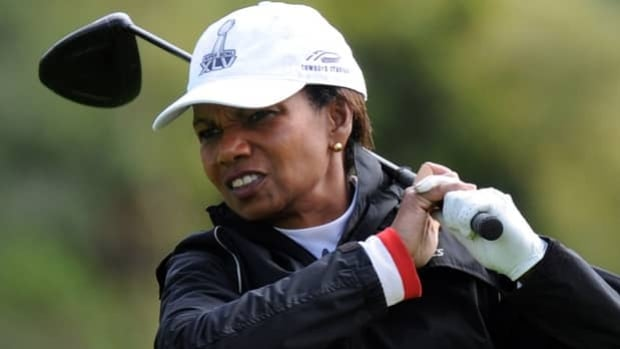Former U.S. Secretary of State Condoleezza Rice is the newest member at Augusta National.