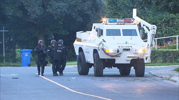 A Montreal police task force was able to subdue the 71-year-old man with a rubber bullet after a 20-hour standoff that began on Tuesday.
