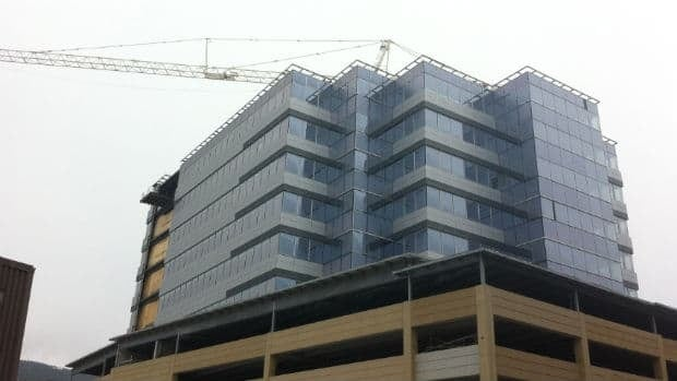 The new office tower under construction at 351 Water St. in downtown St. John's will have Husky Energy as its anchor tenant.