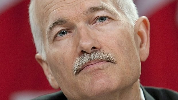 Canadians with cancer 'have every reason to be optimistic, determined, and focused on the future,' Jack Layton said in a final letter.