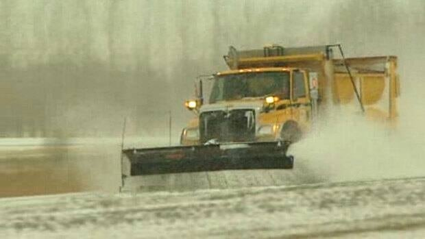 A blistering winter storm has brought with it snow and freezing rain to southern Manitoba and northern Ontario.