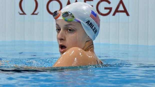At last year's Paralympics in London, Victoria Arlen set a world record and won a gold medal in the 100-metre freestyle and silver medals in three other races.