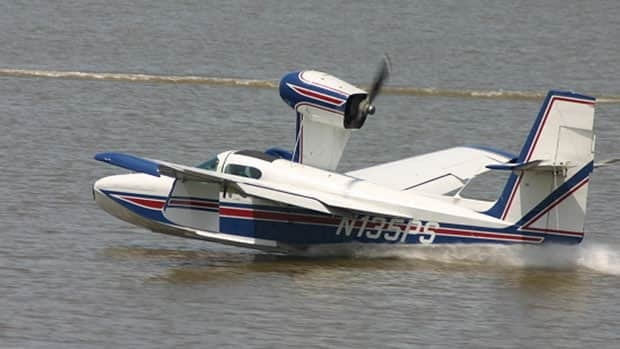 Al Graham's plane was a Lake Buccaneer amphibious aircraft like this one.