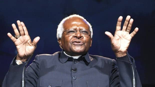 South African Archbishop Desmond Tutu, shown in 2010, is among the Nobel Peace laureates objecting to NBC reality show Stars Earn Stripes.