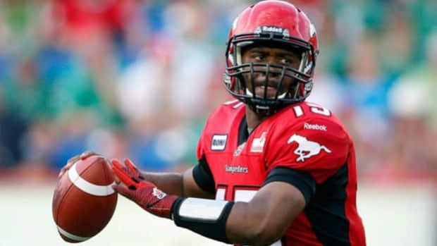 Kevin Glenn will lead the Stampeders as quarterback on Sunday.