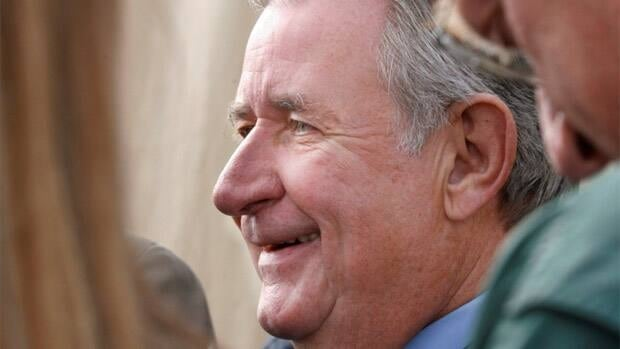 Ralph Klein, shown here in September 2006, now has a severe form of dementia.