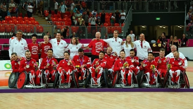 The wheelchair rugby team won Canada's 31st medal Sunday, falling 66-51 to Australia in the final for silver. Canadian athletes earned seven gold, 15 silver and nine bronze.