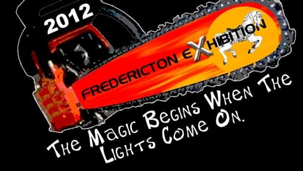 A Fredericton Exhibition 2012 T-shirt shows a new image for the 185-year-old event.
