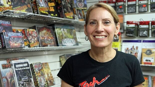 Rose Kriedemann runs Bayshore Hobbies in Westdale. After more than three decades, the store is closing on Saturday.