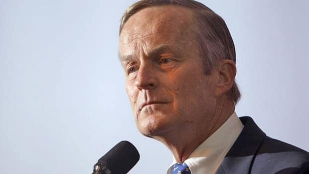 """Missouri Congressman Todd Akin, seen here announcing his candidacy for U.S. Senate, has not been able to shake the controversy after suggesting pregnancy after rape is """"really rare"""" in a KTVI interview earlier this month."""