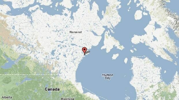 Tattuinnee is believed to be about 20 kilometres north of Rankin Inlet.
