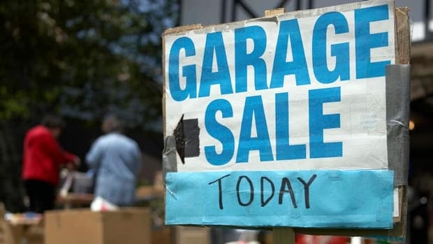 Baby walkers, lawn darts and yo-yo balls are among the banned items sometimes sold at garage sales.