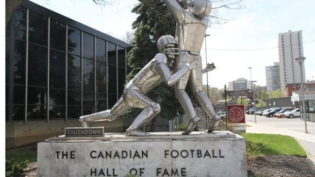 The city is looking at relocating the Canadian Football Hall of Fame in the new Tim Horton's Field stadium. But that's just one potential location.