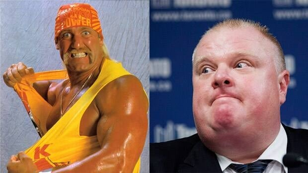 Mayor Rob Ford will take on 14-time pro wrestling champ Hulk Hogan in an arm-wrestling match Friday morning.