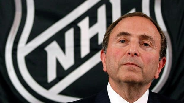 NHL commissioner Gary Bettman says the league and players remain far apart on finding a solution to the labour impasse.