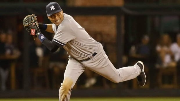 New York Yankees shortstop Derek Jeter is back on the disabled list with a strained calf.