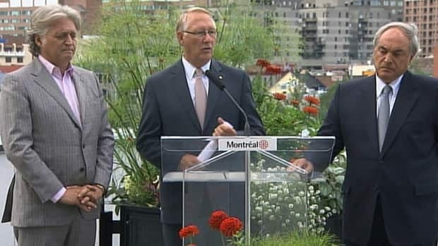 Gérald Tremblay expects help from the provincial and federal government to fund Montreal's 375th anniversary.