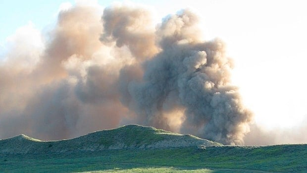 The rupture of TransCanada's Bison pipeline on July 20, 2011, sent a massive cloud of dust into the air in northeast Wyoming. The explosion happened just six months after the pipeline went into service.