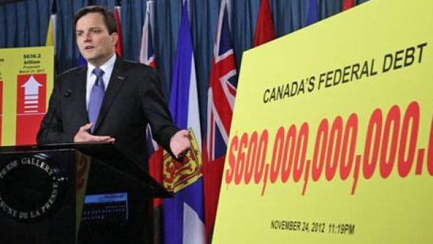 Canadian Taxpayers Federation federal director Gregory Thomas said Friday that the Federal Debt will cross the $600 billion mark tomorrow.
