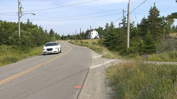 A car with seven people on board was travelling northbound on Shore Road in Judique— south of Port Hood — when it left the road.