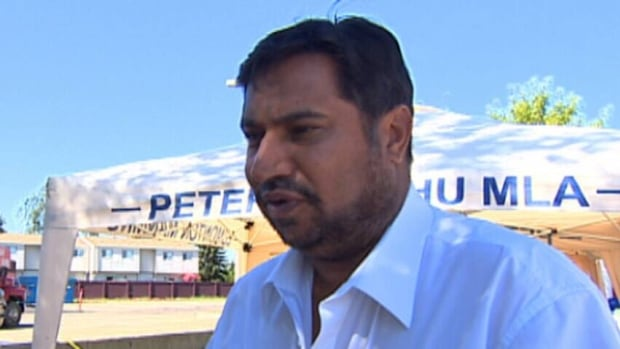 The CBC Investigates project - Imported Politics - detailed how a local Punjabi-language journalist became the target of a fabricated smear campaign by associates of Edmonton Progressive Conservative MLA Peter Sandhu (above).