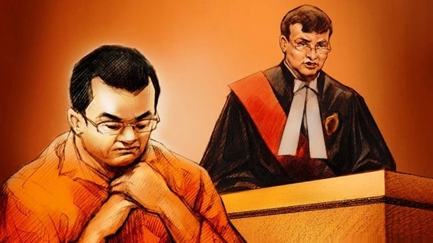 Zhou Fang of Ottawa was convicted of killing his father at a Toronto library branch.