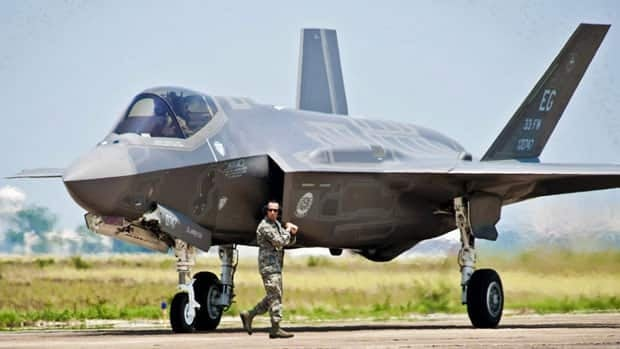 The F-35 fighter jet is designed to replace the country's aging fleet of CF-18s.