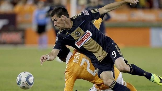 French midfielder Sebastien Le Toux (9) found his form the last two years in Philadelphia, scoring a combined 25 goals.