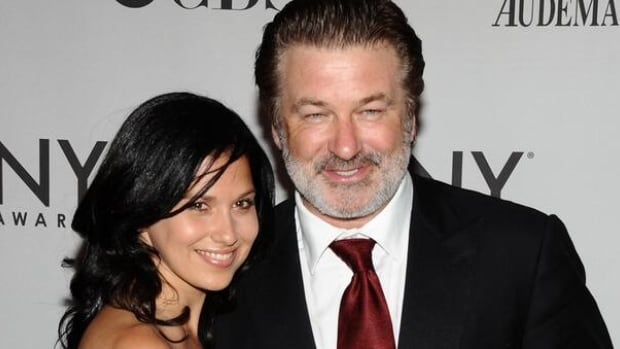 Alec Baldwin, who will be 54 on Tuesday, has proposed to 28-year-old girlfriend Hilaria Thomas seen here at the 65th annual Tony Awards in New York.