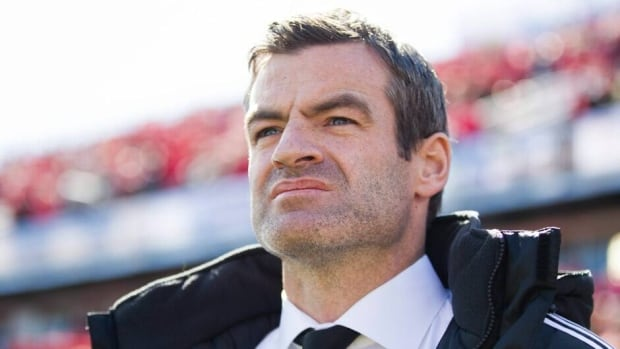 Toronto FC coach Ryan Nelsen in Toronto on Saturday March 30, 2013.