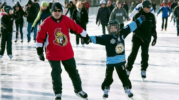 Physical activity doesn't have to be extreme to be effective, say health experts urging Canadians to get off the couch in 2013. In the winter, ice skating can be added into a regular activity regimen.
