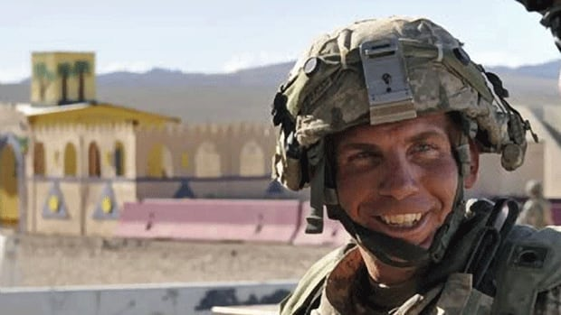 Staff Sgt. Robert Bales is shown taking part in a training exercise in California. Bales has been named as the lone suspect on an attack against Afghan villagers in which 16 civilians were gunned down.
