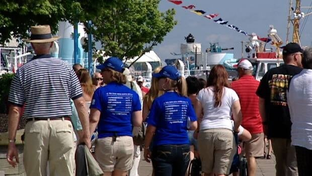 More than 450 people have volunteered to work at the Tall Ships Festival.