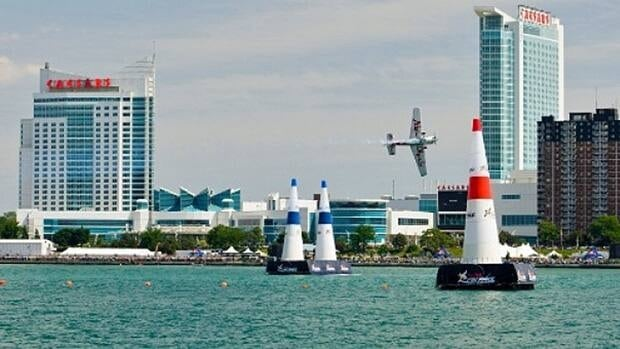 Windsor's waterfront has been home to the Red Bull Air Races and is home to Caesars Windsor and the Summerfest, among other things.