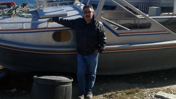 Elijah Evaluarjuk found his family's boat on an island in the Arctic ocean recently -- 13 years after it blew away in a wind storm.