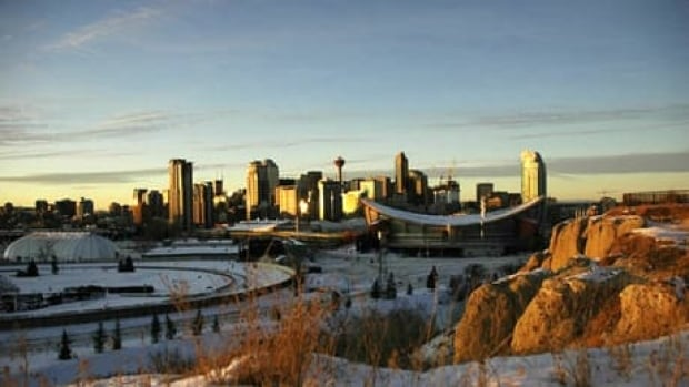 The temperature is expected to climb to 2 C today in Calgary.