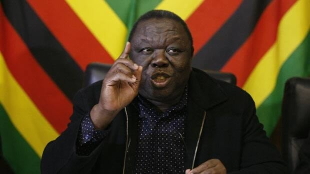 "Zimbabwe's Prime Minister Morgan Tsvangirai said Wednesday's poll ""a huge farce"" after a monitoring group reported some one million eligible voters were left off voter lists."